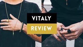 Best Streetwear Jewelry For Men? | Vitaly Design Review