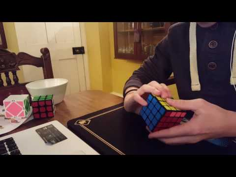 4x4 Tutorial How to skip OLL Alg while doing Oll Parity