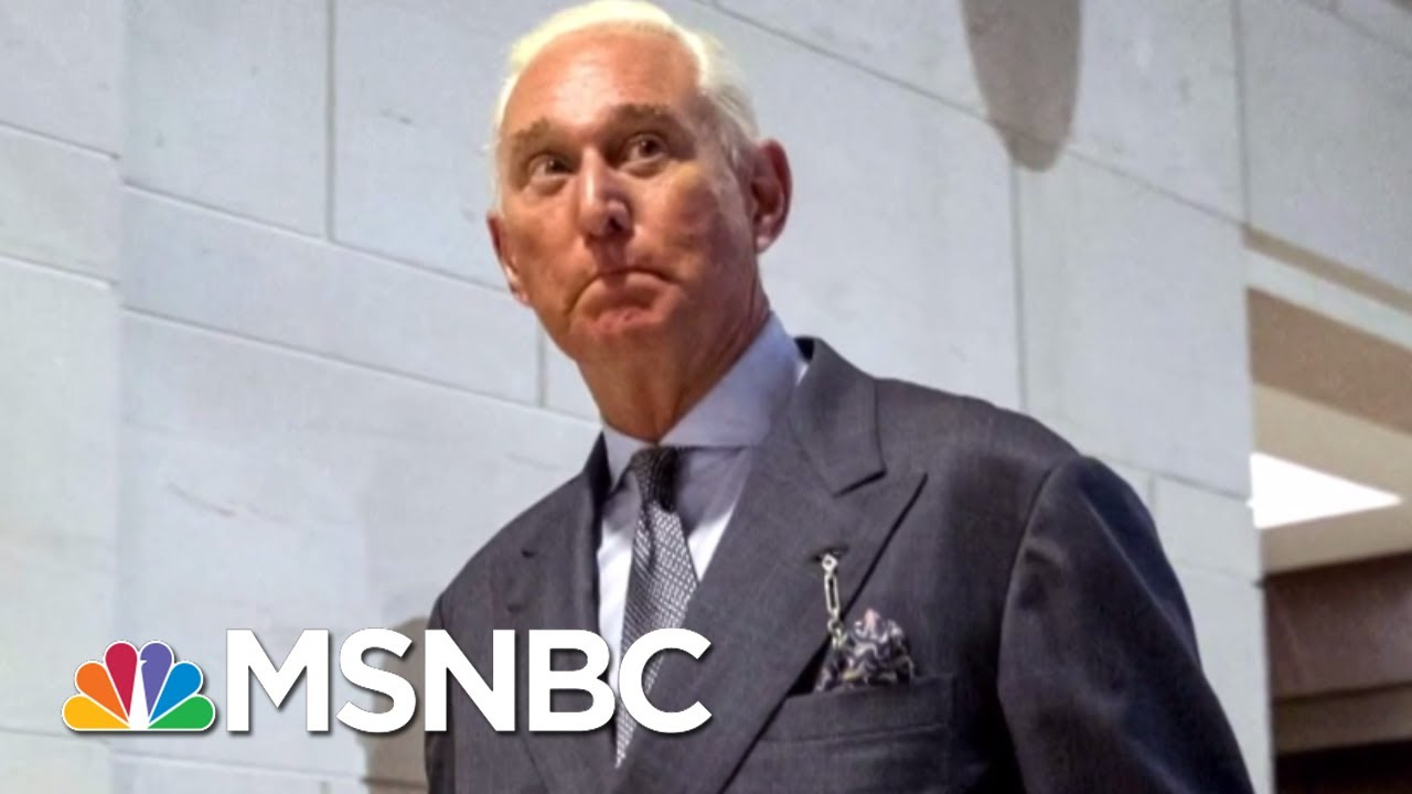 Mueller Circling Roger Stone With New Russia Probe Subpoena | The Beat With Ari Melber | MSNBC thumbnail