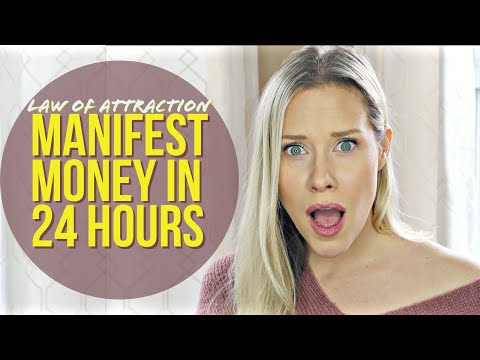 , title : 'MANIFEST MONEY 24 HOURS OR LESS | Real Results Law of Attraction