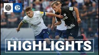 Highlights Gegen SG Wattenscheid 09 | FC Schalke 04