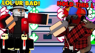 I Went UNDERCOVER As a NOOB, And I DESTROYED Him.. (ROBLOX FUNKY FRIDAY)