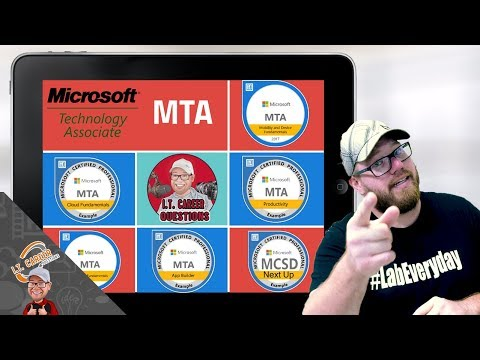 What is the MTA Certification? Microsoft Technology Associate ...