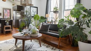 Interior Design | Boho Minimal • Plant Filled Home In Charleston