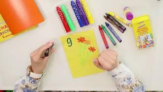 Цветная бумага, А4, мелованная (глянцевая), 24 листа 24 цвета, на скобе, ЮНЛАНДИЯ, 200×280 мм, «ЮНЛАНДИК НА МОРЕ», 129555