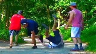 Table Topping Strangers Prank!