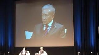 原田泳幸×世耕弘成「偏差値と仕事への貢献度は無関係。グローバル社会が求めるリーダーを目指せ!」