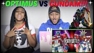 "ScrewAtack ""Optimus Prime VS Gundam DEATH BATTLE"" REACTION!!!"