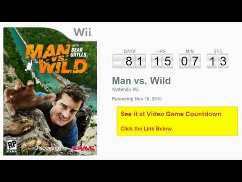 man vs wild wii fr