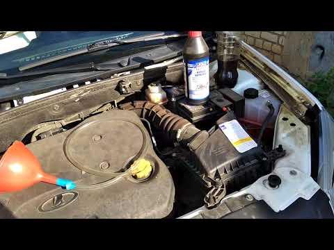 Фото к видео: Замена масла в МКПП с тросовым приводом на Гранте
