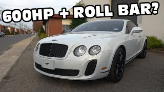 Bentley with Factory Race Seats and Roll Bar for $95,000?