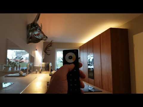 Küchenbeleuchtung LED Dualweiss Streifen
