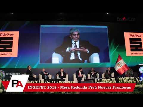 Mesa Redonda Perú Nuevas Fronteras - INGEPET 2018