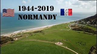 Normandy, France - D-Day Beaches | Flying 4K Vision