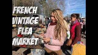 FRENCH VINTAGE / ANTIQUE FLEA MARKET NEAR PARIS