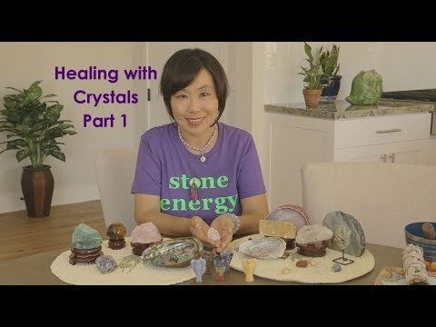 Healing with Crystals Part 1 - YouTube