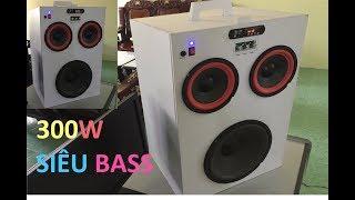 Chế Loa Thùng Bluetooth 2.1 Công Suất 300W - Bass Cực Mạnh