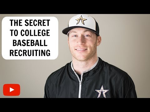 The Secret to College Baseball Recruiting