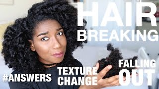 Why Your Hair Texture Is Changing + Falling Out | My DETAILED Story