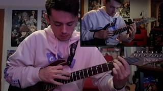 CHON   Pitch Dark ( Full Guitar Cover)   WITH TAB