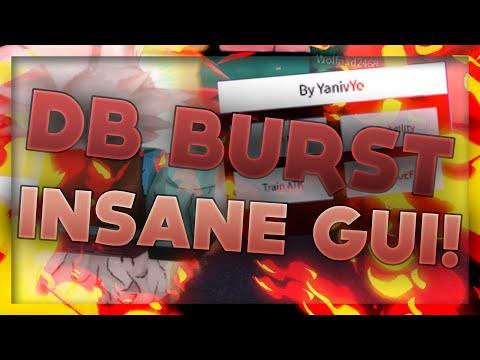 ROBLOX | DB Burst & DB Rage INSANE GUI Script! → PC Conference