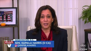 """Sen. Kamala Harris Doubles Down On Promise To Not Ban Fracking: """"We're aligned on this"""" 