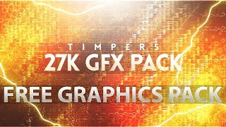 500 Special!🔥😱 Supreme GFX Pack Out Now 😱🔥 - Most