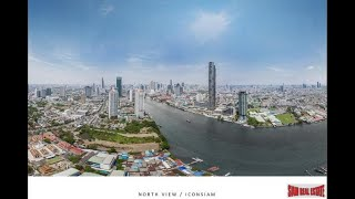 Last Remaining 3 Bed Unit - Best Waterfront Living in the Heart of Bangkok (Sathorn-Chareonnakorn)