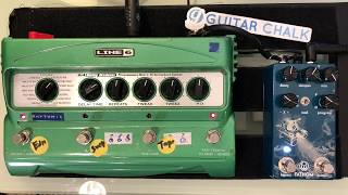Line 6 DL4 And Walrus Audio Fathom Delay And Reverb Effects Settings Demo