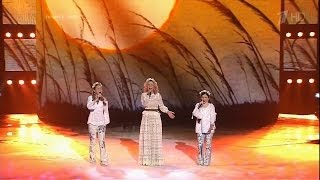 Голос. Дети - Финал - Анастасия Титова, Рагда Ханиева и Пелагея - Конь HD