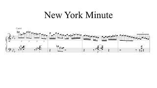 New York Minute (Herbie Hancock transcription)