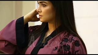 Summer Fashion Abayas With Elegance | Orchid Embroidered Abaya - Shop Online At Abaya.pk