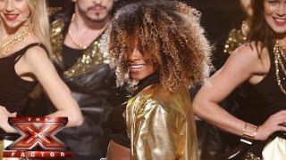 Fleur East Sings Bruno Mars & Mark Ronson's Uptown Funk   Live Semi Final   The X Factor UK 2014