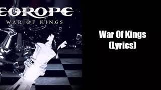 EUROPE - War of Kings [LYRICS]