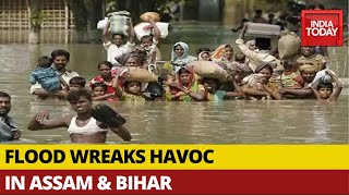 Assam Floods Affect Lives Of 37 Lakh People; Flood Fury Rocks Bihar | Get Real India