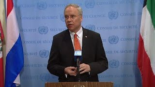 Security Council President on Somalia & Eritrea -  Media Stakeout (13 March 2018)