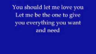 Mario - Let Me Love You with lyrics