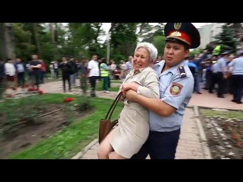العرب اليوم - اعتقالات بالجملة في كازاخستان وسط انتخابات نتائجها محسومة