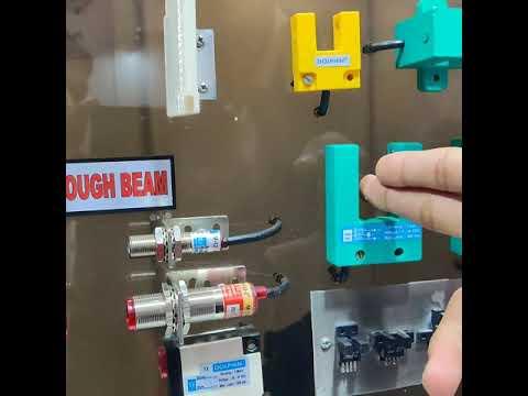 DC Square Shape Inductive Proximity Sensor Size 16x16x28 mm  Mouse Sensor