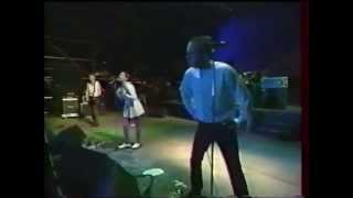 The Sugarcubes - Deus + Bee - Live @ Sos Racisme Chateau de Vincennes, France, (1989) [Remastered]