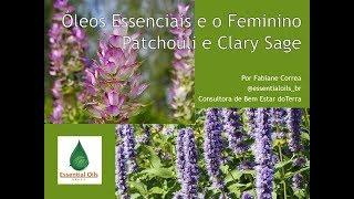 Conheça os óleos essenciais de Patchouli e Salvia Esclaréia