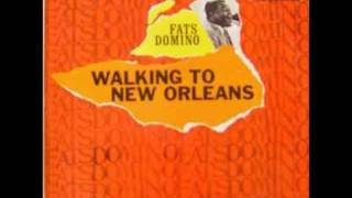 Fats Domino  -  Walking To New Orleans  -  [Studio album 17]  Imperial LP 9227