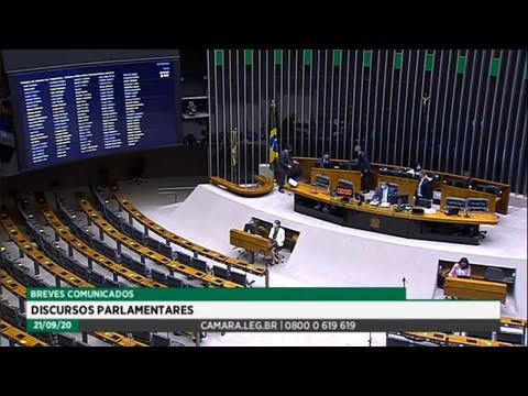 Plenário - Breves comunicados - Discursos parlamentares - 21/09/2020 10:15