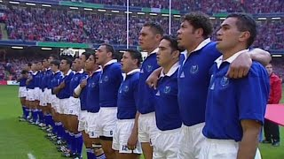 Samoa sing the Banner of Freedom - Rugby anthem