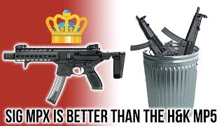 Five Reasons the SIG MPX is Better Than the H&K MP5