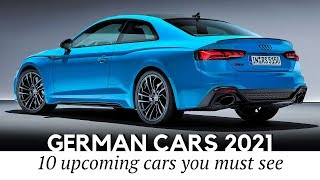 Top 10 Upcoming German Cars with Updated Looks and Interior Designs for 2021 MY