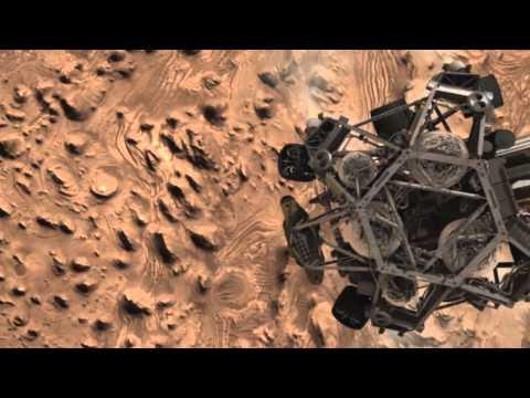 Curiosity Mars'a böyle indi!