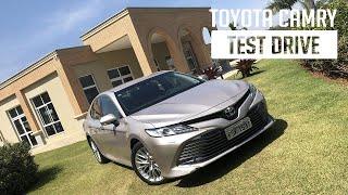 Toyota Camry - Test Drive
