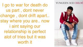 Neverland   Yungeen Ace ( Lyrics )