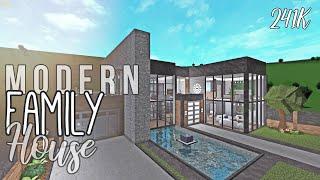 Bloxburg: Modern Family House 241K | Roblox [SPEEDBUILD]